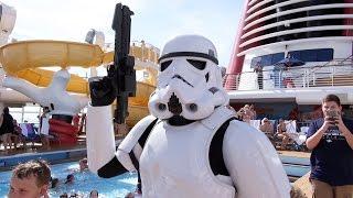 Stormtrooper Pool Patrol, Star Wars Day at Sea on Disney Fantasy Cruise Ship