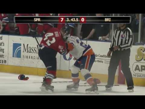 Kyle Rau vs. Travis St. Denis