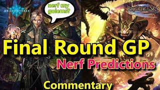 "[Shadowverse] Commentary ""Final Round GP Ft Silva"""