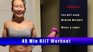 CHOICES HIIT - 2 MEDIUM WEIGHTS
