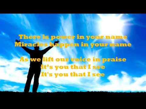 Eben - JESUS AT THE CENTER lyrics