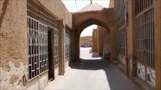 preview picture of video '10 minute travel in Yazd, Iran 2014'