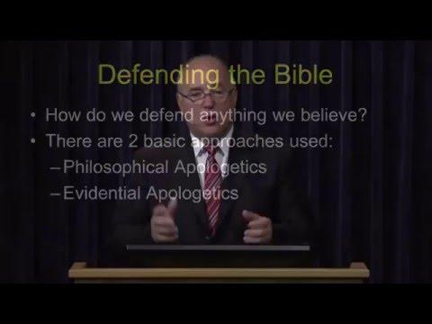 Defending the Bible - Ron Matsen#1