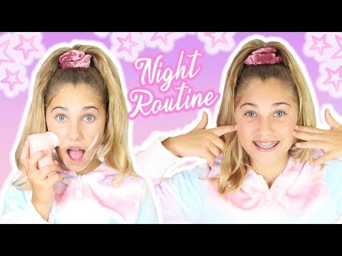 MY REAL NIGHT ROUTINE | After School | Rosie McClelland