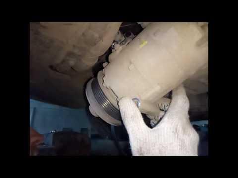 Фото к видео: демонтаж генератора Fors Focus 2 1,8 KKDA