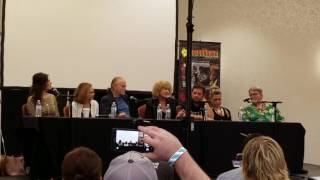 Child's Play panel at Horrorhound 2016.