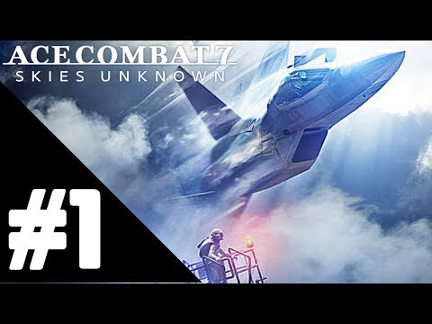 Ace Combat 7: Skies Unknown Walkthrough Gameplay Part 1 – Mission 01: Charge Assault