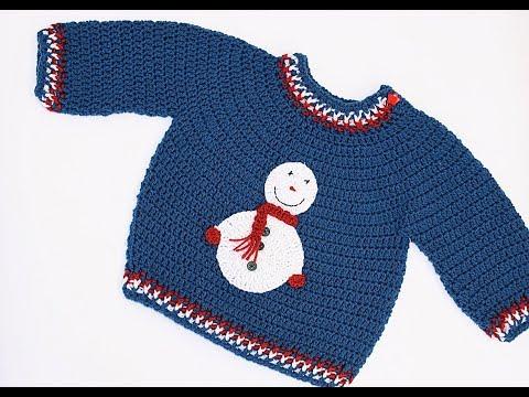 Very easy crochet winter sweater very easy