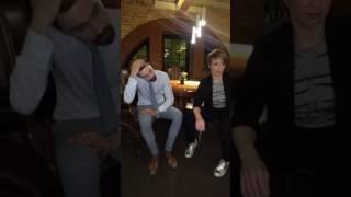 Интервью с Димой Биланом после MTV Unplugged (Facebook)