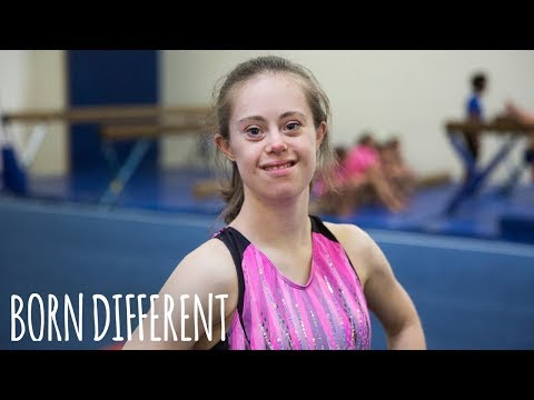 Watch video Gymnast With Down Syndrome Defies Doctors | BORN DIFFERENT