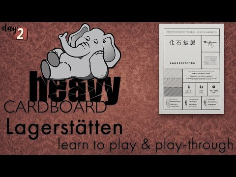 Lagerstätten 5p Play-through, Teaching, & Roundtable discussion by Heavy Cardboard