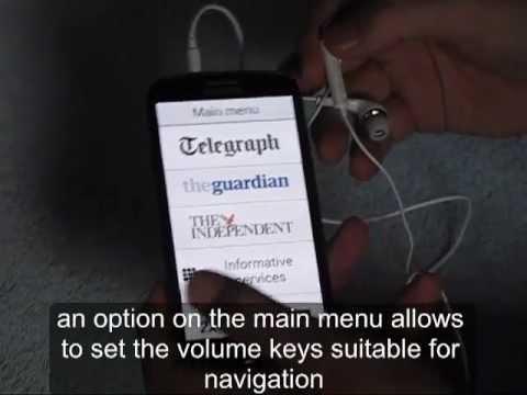 Video of Happen Accessible Newsreader