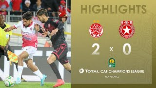CL CAF : Wydad Athletic Club 2-0 Etoile du Sahel