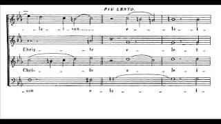 Rossini - Petite messe solennelle: Kyrie (score)