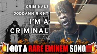 A Rare Eminem Song! | Eminem - Criminal (Extended Version) REACTION!