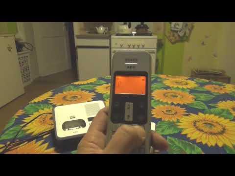 Funktionsprüfung AEG-   DECT Telefon mit AB   Casa 215-3
