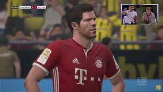 Marco Reus is playing in FIFA 17 on Gamescom 2016 with Castro.  Fifa 17 Gameplay