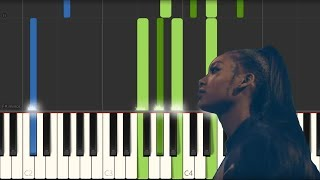 Summer Walker   Girls Need Love [Piano Tutorial] (Synthesia)