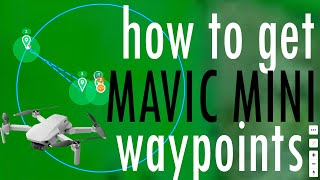 How to get Waypoints for DJI Mavic Mini drone