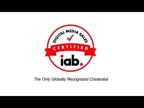 IAB Digital Media Sales Certification - YouTube