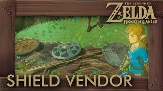 Zelda Breath of the Wild - Shield Vendor Location