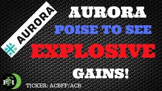 AURORA ACBFF POISE TO SEE EXPLOSIVE GAINS! (OCTOBER 2018)