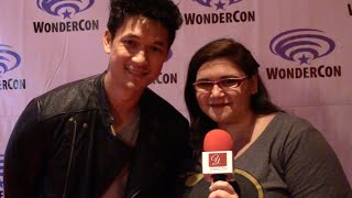 Shadowhunters' Harry Shum Jr. at WonderCon 2016