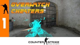 Tètes Chanceuses !? OVERWATCH CHEATERS #1 (CS:GO Overwatch Case Review)