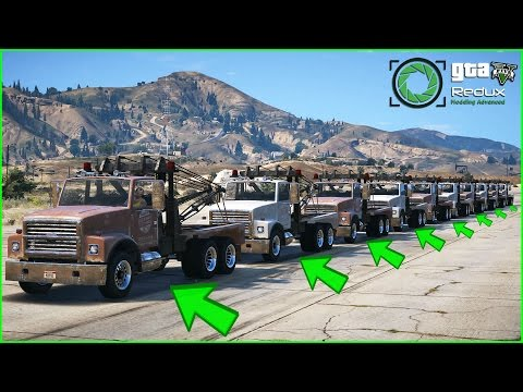 How Many Tow Trucks Can You Hook Up And Drive In GTA 5/Gameplay?