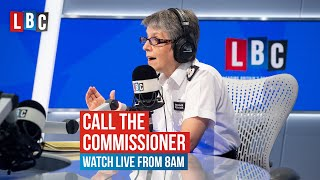 Call The Commissioner: Cressida Dick answers listeners' questions | Watch Live from 8AM
