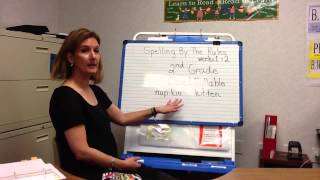 Spelling by the Rules - 2nd grade Lesson 1&2