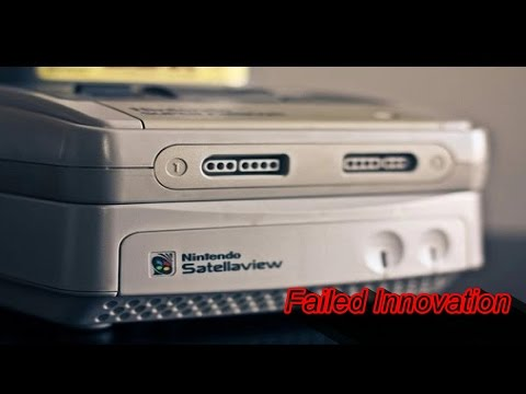 Nintendo Satellaview (Failed Innovation)