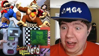 Reaction Monday #6 - SMG4: Mario VS Donkey Kong + Game Boy Accessories (AVGN)