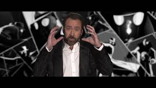 Spider-man Into The Spider Verse - Itw Nicolas Cage Spider-Man Noir) (official video)