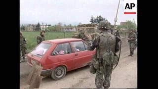 BOSNIA: TENSION MOUNTS BETWEEN BOSNIAN SERBS AND MUSLIMS