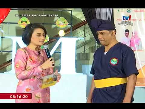 SPM TV1 - Demonstrasi Silat Cekak Malaysia - (29/6/2018)