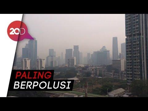 AirVisual: Udara Jakarta Pagi Sangat Tidak Sehat!