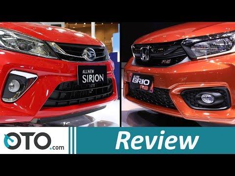 Honda Brio 2018 vs Daihatsu Sirion | Review | Pilih Yang Mana? | OTO.com