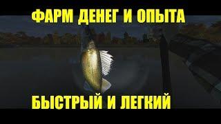 Fishing Planet - очень быстрая прокачка уровня с 10 до 30 и фарм денег