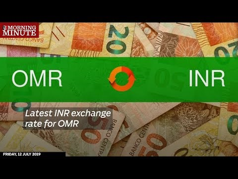 Latest INR exchange rate for OMR