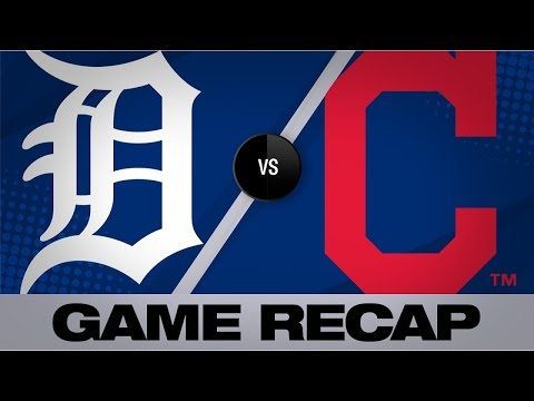 Indians' offense backs Plesac in 8-3 win   Tigers-Indians Game Highlights 6/23/19