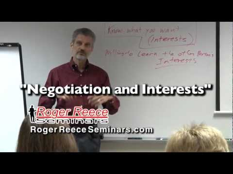 Video Negotiation and Interests
