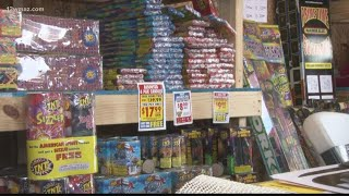 When and where can you shoot fireworks off in Georgia?