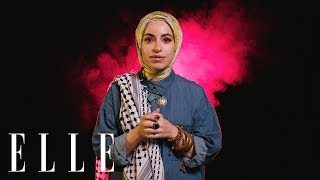 """Wrap My Hijab"" Rapper Mona Haydar Talks Sexism, Misogyny, and Religion on the Internet | ELLE"