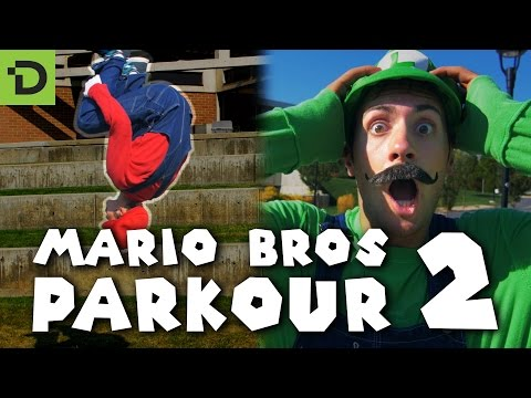 Super MarioParkour In Augumented Reality Is Beautifully Bonkers