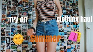 Try On Summer Clothing Haul Ft. My Bad Dancing