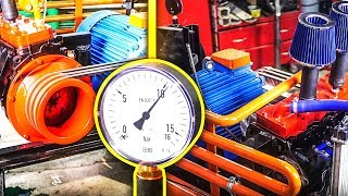 Sprężarka z silnika samochodowego DIY // Air Compressor  from car engine *Subtitles*
