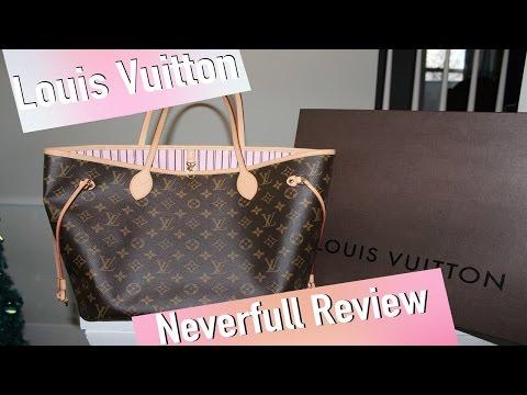 Louis Vuitton Neverfull MM (Rose Ballerine) Review