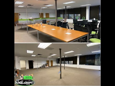 We helped this company in Norcross, Georgia remove office furniture that was not going with them in their move.