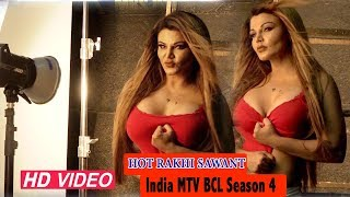 Rakhi Sawant At Photoshoot Of Actors For 'AR Mrs. India MTV BCL Season 4